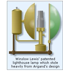 Despite Such Problems, Lewisu0027 Lamps Were Quickly Adopted By Pleasonton As  The De Facto Standard, And Were Subsequently Installed In All US  Lighthouses Prior ...